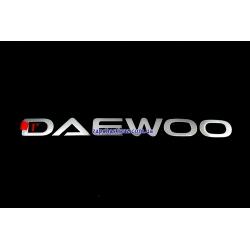 Надпись Daewoo GSP Auto