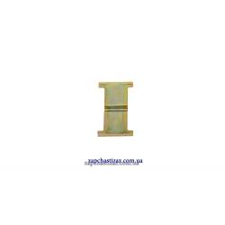 Пластина пружинная для передних тормозный колодок Таврия Славута Фото 1