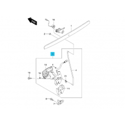 Замок крышки багажника Лачетти Седан GM. Скриншот с каталога