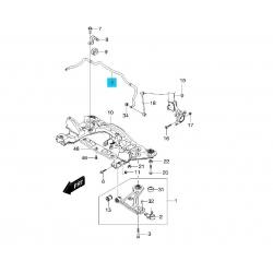 Стабилизатор передний GM Лачетти. Скриншот с каталога