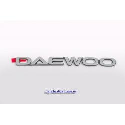 Надпись Daewoo GM
