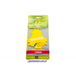 Освежитель воздуха ёлка (ароматизатор) Zollex аромат лимона