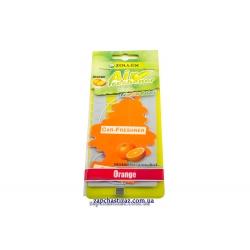 Освежитель воздуха ёлка (ароматизатор) Zollex аромат апельсина