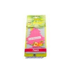 Освежитель воздуха ёлка (ароматизатор) Zollex аромат персика