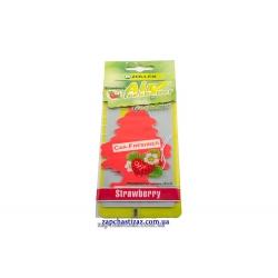 Освежитель воздуха ёлка (ароматизатор) Zollex аромат клубники
