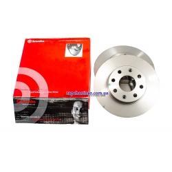 Диск тормозной передний Brembo R13 Авео Ланос (к-т 2 шт)