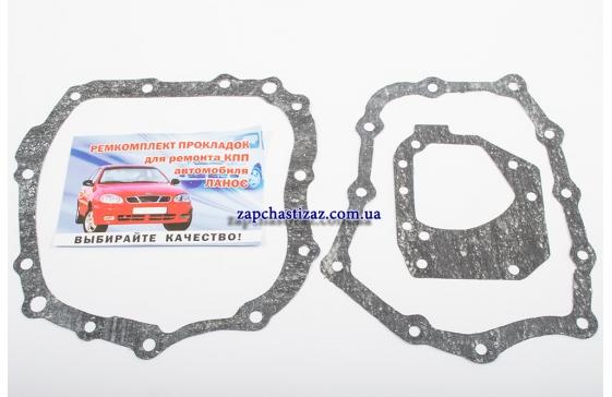 Прокладки КПП комплект (3 шт) Ланос Авео Лачетти (паронит) Украина