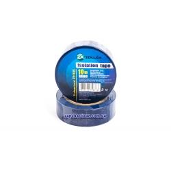 Изолента Zollex 10м синяя IZ-04 Фото 1