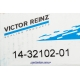 Болт головки Ланос 1.5 VICTOR REINZ (10 шт) 14-32102-01 Фото 2 14-32102-01