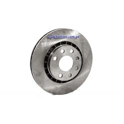 Диск гальмівний передній HI-Q R14 (1 шт)