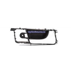 Ручка двери внутрисалонная правая с хромом на Шевроле Лачетти Chevrolet Lacetti)