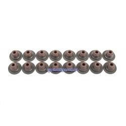 Манжеты (сальники) клапанов 1.6, 1.6 LXT GM (к-т, 16 шт.)