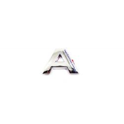 Надпись (буква) A в слове Vida