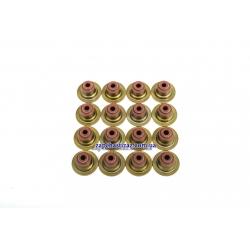 Манжети (сальники) клапанів 1.6, 1.6 LXT VICTOR REINZ (к-т, 16 шт.)