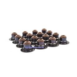 Манжети (сальники) клапанів 1.6, 1.6 LXT TOPIC-KAP (к-т, 16 шт.)