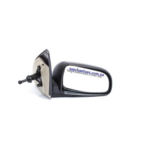 Зеркало наружное правое механическое Авео Т-250 Китай JH01-AV007-013M RH