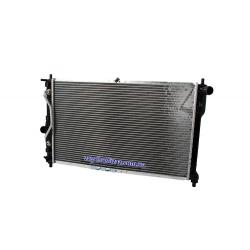 Радіатор охолодження Ланос 1.6 АКПП з кондиціонером Лузар