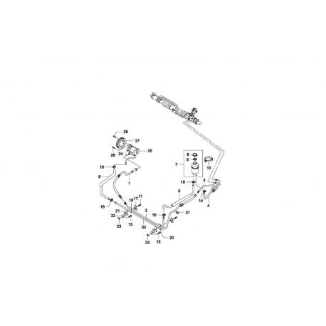 Бачок гидроусилителя GM Нексия 96222501