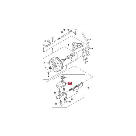 Бачок тормозной GM Нексия 426043