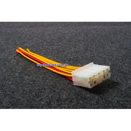 Колодка (разъём) переключателя света и стеклоочистителя Ланос Авео 96276386-28k