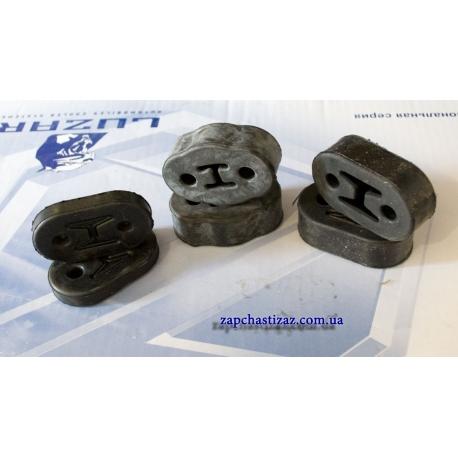 Подушка глушителя комплект оригинал для авто Ланос Сенс. Название по каталогу - резиновая подвеска L 86 - 10