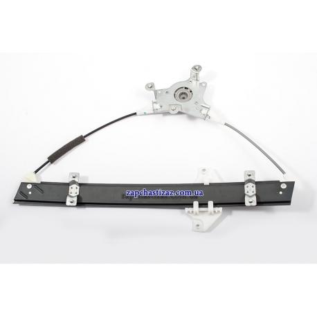 Механизм электростеклоподъёмника для авто Ланос Сенс под шестерню (под шлицы) без электродвигателя левый 96430500