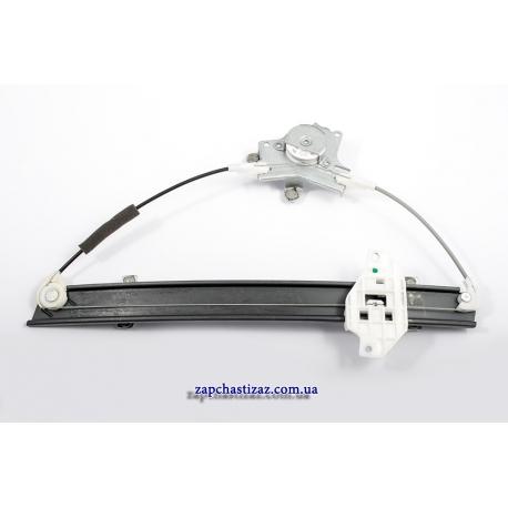 Механизм стеклоподъёмника электрического (ЭСП) без мотора под крест для авто Ланос Сенс для передней правой двери 96225384