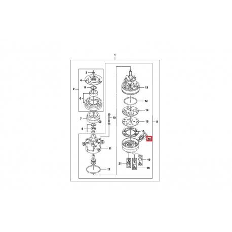 Клапан компрессора кондиционера Нексия GM 713017