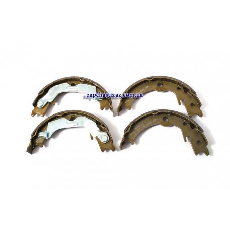 Колодки ручного (стояночного) тормоза Лачетти GROG 96496764 / PZ-LC-1071