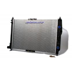 Радиатор основной Авео АКПП до 2009г Лузар (600 мм)