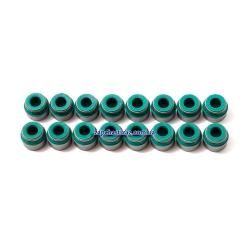 Манжеты (сальники) клапанов 1.8 LDA, 1.8, 2.0, 2.2, 2.4 KOS (к-т, 16 шт.)