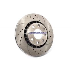Диск гальмівний передній FriCo T5 R14 (к-т 2 шт)