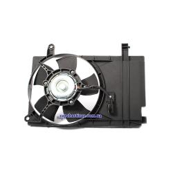 Вентилятор радиатора дополнительный Авео Т200 1.5 и 1.6 Шанхай Лузар