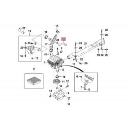 Патрубок сапуна Нексія 1.5 8-кл. Daedong