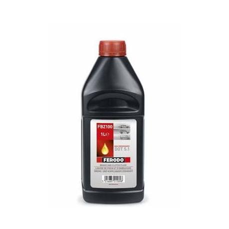Тормозная жидкость DOT-5.1 FERODO 1л FBZ100