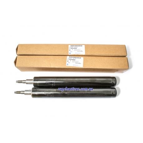 Комплект передних масляных амортизаторов оригинал GM Ланос Сенс 96187438 96226992