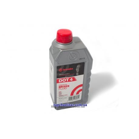 Тормозная жидкость DOT-4 Brembo 0.5л L04005
