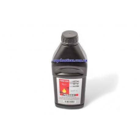 Тормозная жидкость DOT-4 FERODO 1л FBX100