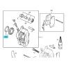 Ремкомплект цилиндра суппорта (без направляющих и пыльника) Ланос Нексия Матиз KOS