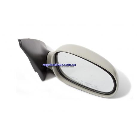 Зеркало наружное правое электро (под покраску) Ланос GM 96545993