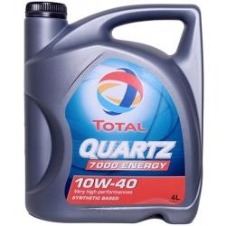 Масло TOTAL QUARTZ 7000 ENERGY 10W-40 полусинтетика 4л