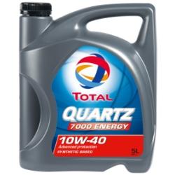 Масло TOTAL QUARTZ 7000 ENERGY 10W-40 полусинтетика 5л