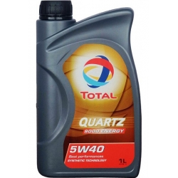 Масло TOTAL QUARTZ 9000 ENERGY 5W-40 синтетика 1л