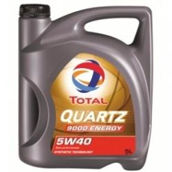 Масло TOTAL QUARTZ 9000 ENERGY 5W-40 синтетика 5л