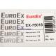 Наконечник рулевой тяги EuroEx левый EX-75018