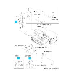 Датчик абсолютного тиску Матіз 0.8 GM