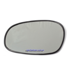 Зеркальный элемент на зеркало ст.обр. (4 зажима) левый Ланос OE