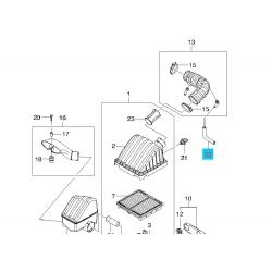 Шланг корпуса воздушного фильтра Матиз GM