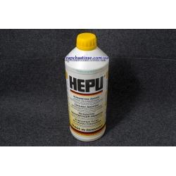 Антифриз HEPU G11 жовтий (концентрант) 1.5 л