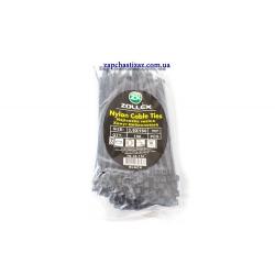 Хомут пластиковий Zollex чорний 3.6 х 150 (100 шт.)